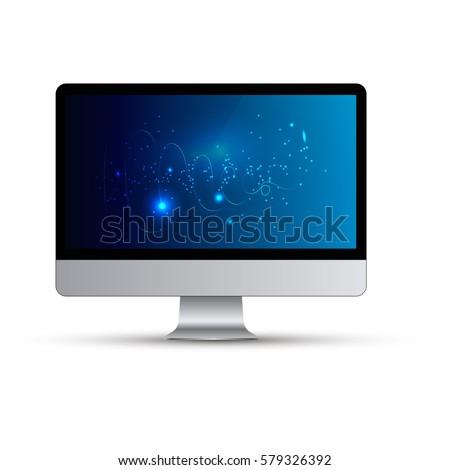 computer vector illustration