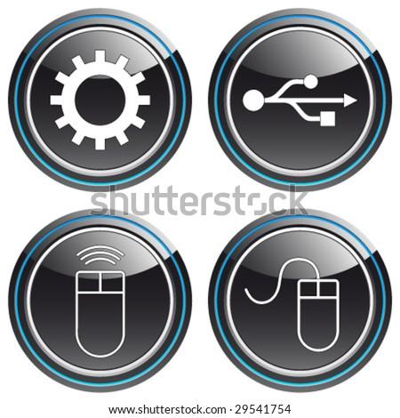 computermouse, usb, wheel - buttons