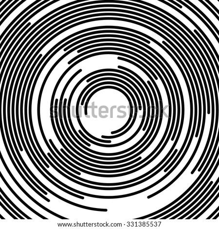 stock-vector-concentric-segments-of-circles-random-lines-following-a-circle-path