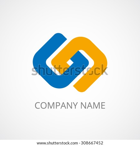 concept abstract logo template