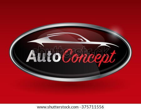 concept automotive logo design