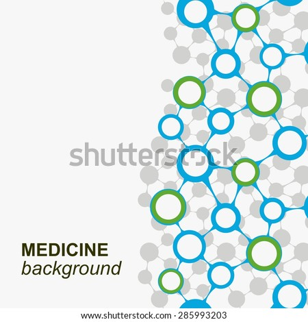 Concept background with integrated metaballs for Business Company, medical, healthcare, network, connect, social media and global concepts.