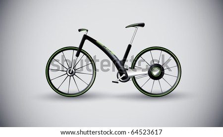 concept bike for urban transportation. product design