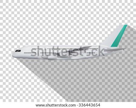 concept design of vector,concept design of plane,plane on the transparent background,model of plane,cute design of plane.