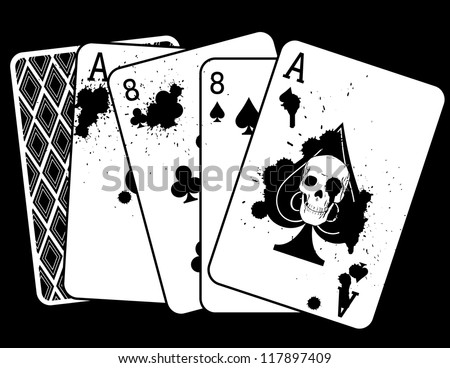 aces and eights poker club logo motor