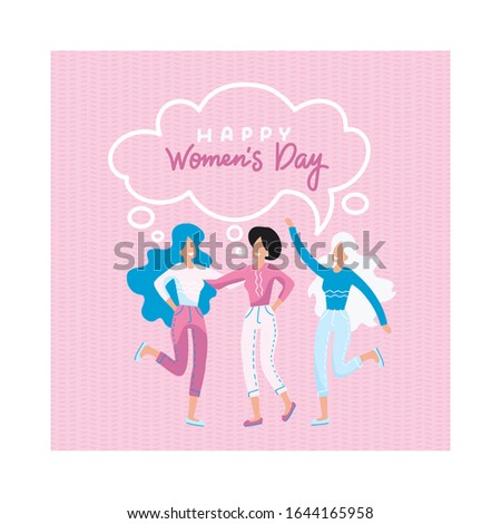 concept for women's day three