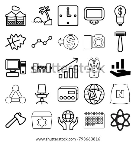 concept icons set of 25