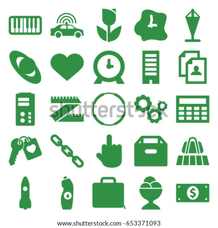 concept icons set set of 25