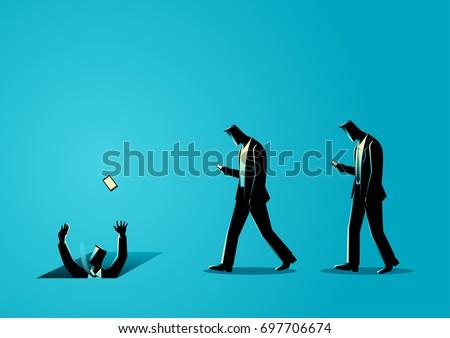 concept illustration of men