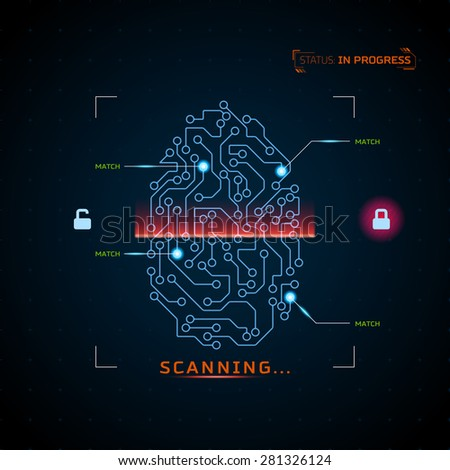 concept of fingerprint