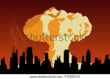 concept of nuclear explosion