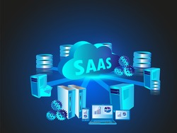 Concept of Software as a Service in Cloud Computing technology