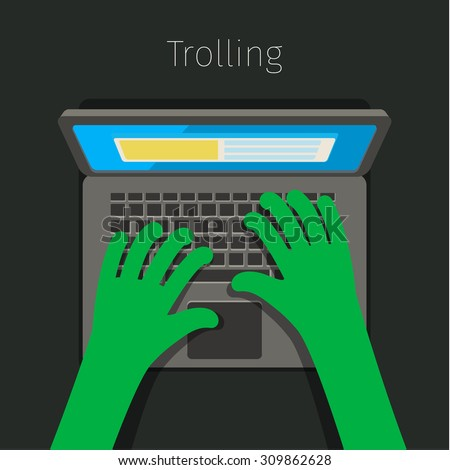 concept of trolling in internet