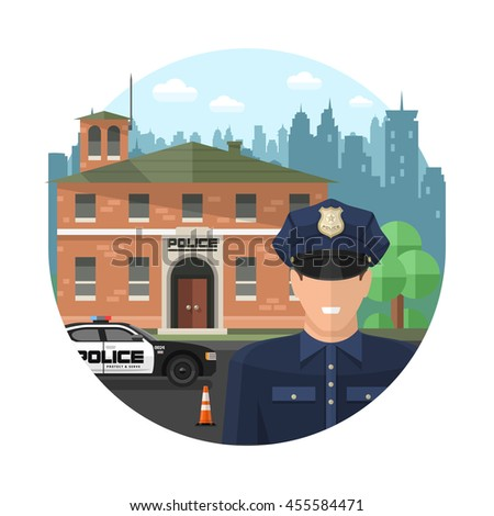 concept police composition with