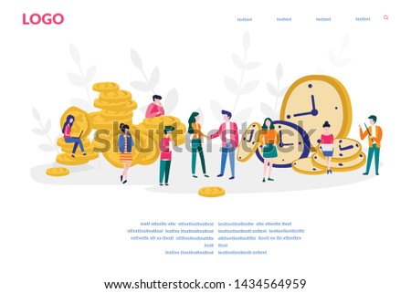 Time is Money Watches & Clocks - Download Free Vector Art
