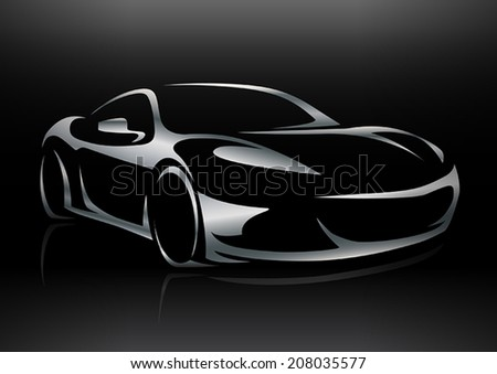 concept sportscar vehicle