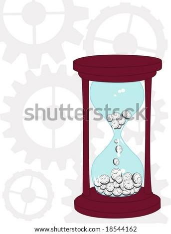 concept vector hourglass