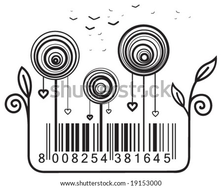Concept with barcode