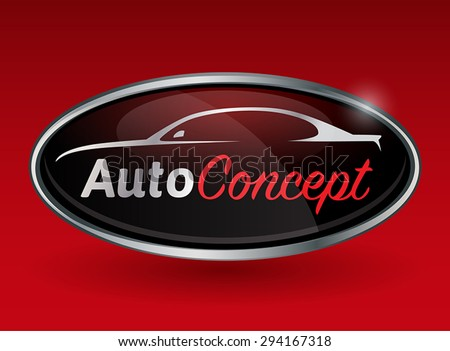conceptual automotive vector