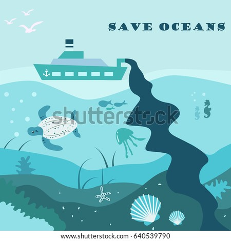 conceptual eco poster with