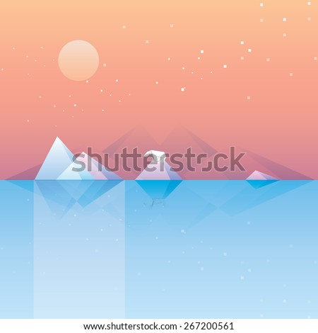 conceptual geometric low poly