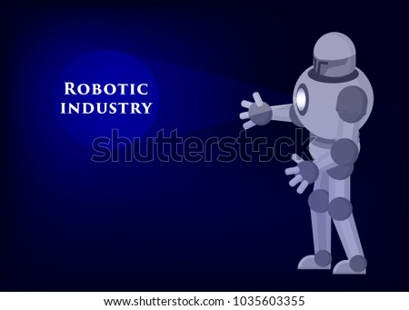 conceptual illustration robot