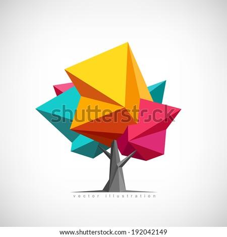 conceptual polygonal tree