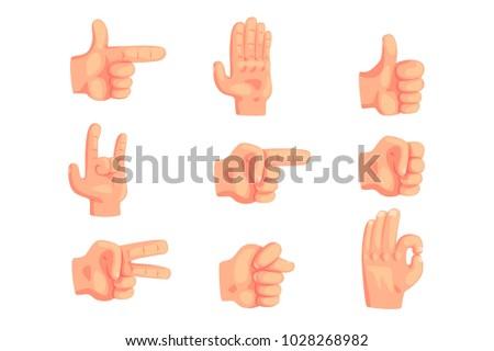 conceptual popular hand