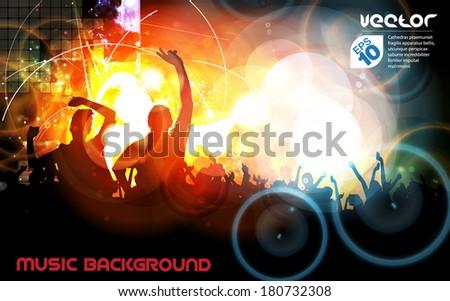 concert vector illustration