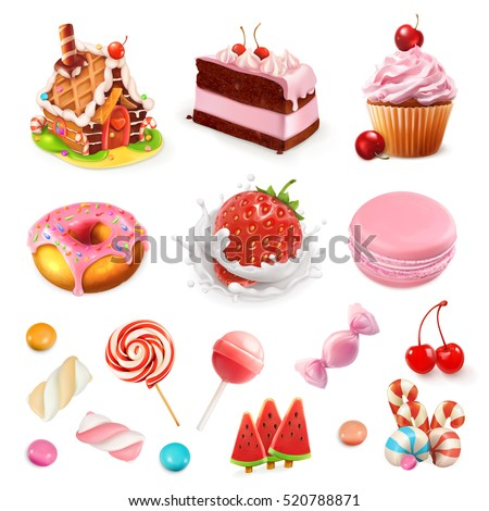 confectionery and desserts