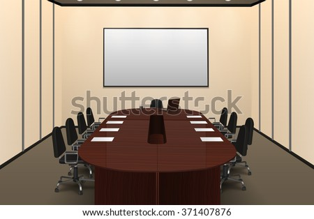 conference room interior with