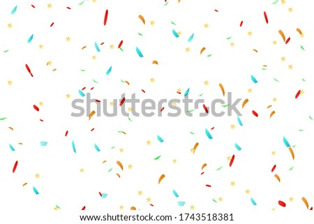 confetti background party and