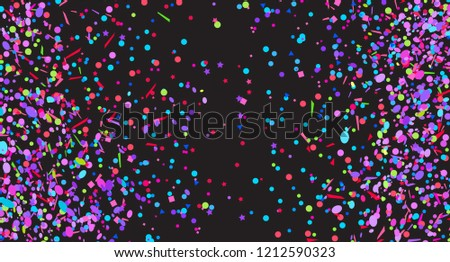 confetti on isolated background