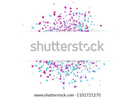 confetti burst background template design download free vector art