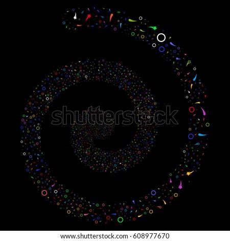 confetti stars fireworks portal