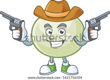 confident green hoppang cowboy