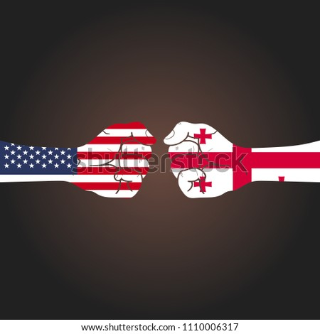 conflict between countries  usa