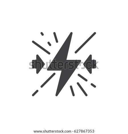 Conflict icon vector, filled flat sign, solid pictogram isolated on white. Symbol, logo illustration. Pixel perfect
