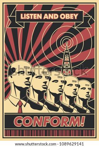 conform  vector propaganda
