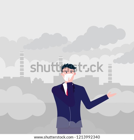 confused man wearing mask