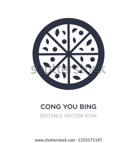 cong you bing icon on white
