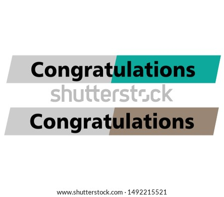 Congratulations. congratulations card. congratulations illustration