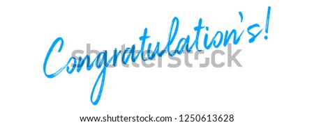 Congratulations Vector typography Background.Typography for photo overlay or heading, title for compliment card -- birthday, wedding, office party etc. Compliment wishes card.