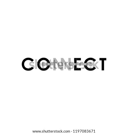 Connect Logo Design.