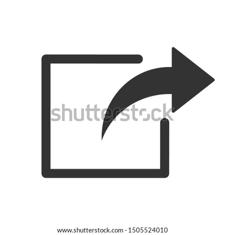 Connection and share icon vector image