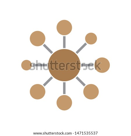 connection icon. flat illustration of connection - vector icon. connection sign symbol