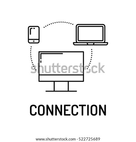 CONNECTION Line icon
