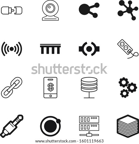 connection vector icon set such as: integrated, blog, industrial, energy, industry, figure, apple, podcast, health, document, molecules, multi, share, headphone, wheel, hand, file, image, fi