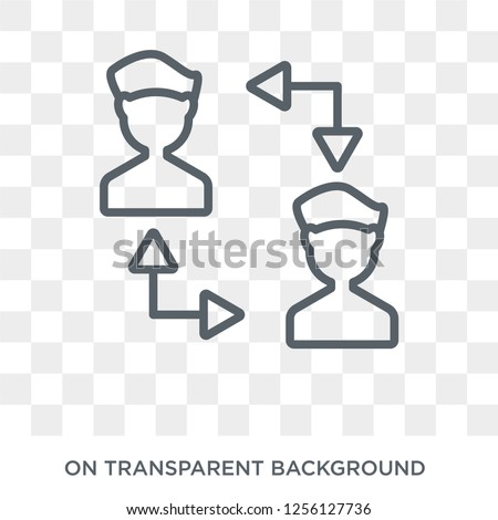 Connections icon. Connections design concept from  collection. Simple element vector illustration on transparent background.