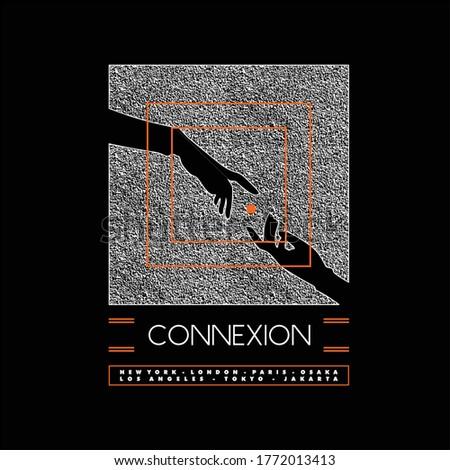 connexion city grunge texture vintage fashion Photo stock ©
